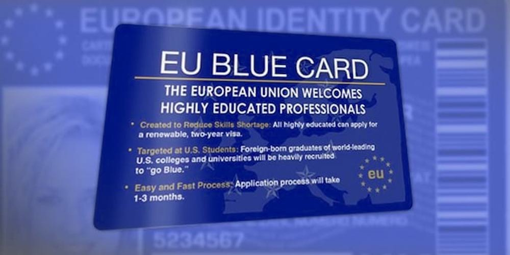 Ekaterina Ozerova - What You Need to Know About EU Blue Card.