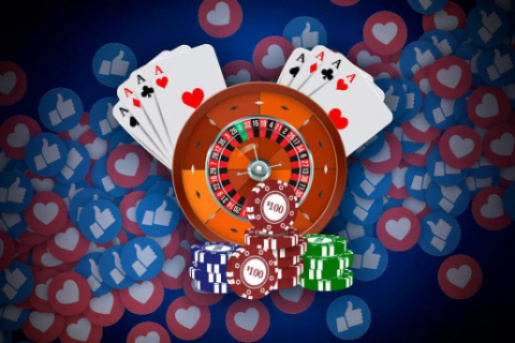How to make money on a casino in a social network?