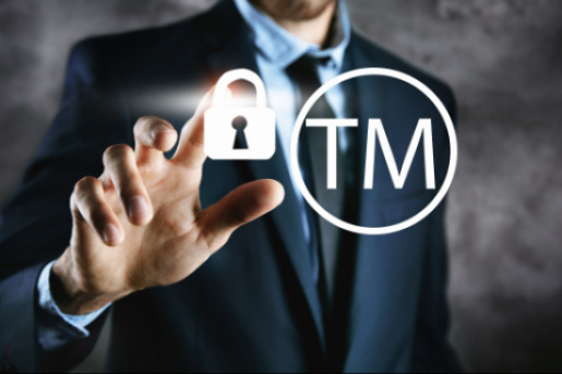 Legal protection of a trademark online.