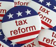 Large-scale tax reform in the USA