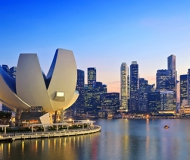 Singapore tax officials to report the record tax revenues